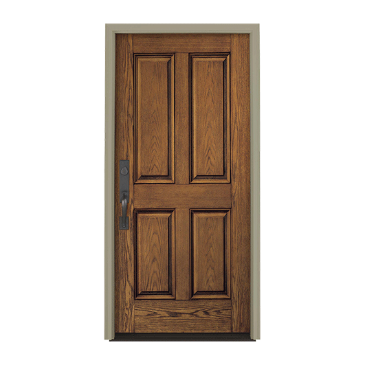 Architect Series 4 Panel Entry Door Solid Panel